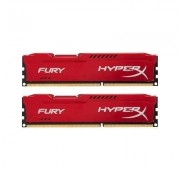 Kingston HyperX FURY Red DDR3 DIMM 8GB 1600MHz (2x4GB) HX316C10FRK2/8