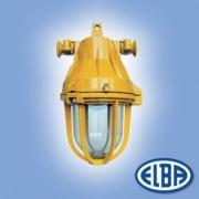 Robbanásbiztos lámpa AI 02 70W II 2G Exde II B T5 izzóval IP54 Elba