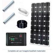 Denson 140 Watt zonnepanelset