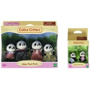 Calico Critters Wilder Panda Bear Family Baby Twin Sets