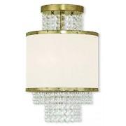 Livex Lighting 50792-28 Lámpara de techo (organza), color blanco