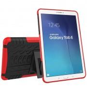 Samsung Galaxy Tab E 9.6 T560, T561 Anti-Slip Hybrid Case - Black / Red