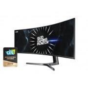 "Samsung Gaming Monitor 49"" Samsung Lc49rg90ssuxen Dual Qhd Qled Curvo 32:9 120 Hz Hdmi Usb Refurbished Dark Blue Gray"