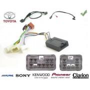 COMMANDE VOLANT Toyota Aygo MMT 2006-2007 - complet avec faisceau specifique