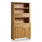 Oak Furnitureland Natural Solid Oak Dressers - Small Dresser - Romsey Range - Oak Furnitureland