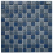 Maxwhite L13 plus L14 plus L15 Mozaika skleněná modrá mix 29,7x29,7cm sklo