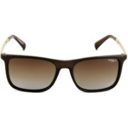 Image Retro Square Sunglasses(Grey)