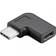 Goobay Convertitore Adattatore da USB-C™ Maschio / Femmina Angolato