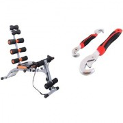 Six Pack Abs Ab IBS Rocket Twister Home Fitness Equipment Abrockettwister Gym Sixpack With Snap N Grip Adjustable
