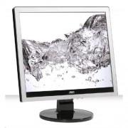 "Monitor AOC E719SDA, 17"" W-LED 5:4, 1280x1024, 20.000.000:1, 250cd, 5ms, VGA/ DVI, repro, Silver/Black texture"