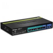 SWITCH, TRENDnet TPE-1020WS, 10-Port Gigabit, Web, Smart, PoE+