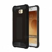 Dayspirit TPU PC de doble capa para Samsung Galaxy C9 Pro - Negro