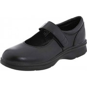 Propet Mary Jane para Mujer, Negro Liso, 9.5 W (US Women's 9.5 D)