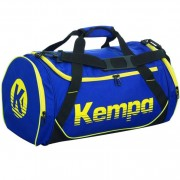 Kempa Sporttasche K-LINE - deep blau/schwarz/limonengelb | S