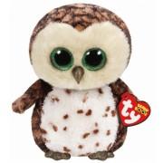 Jucarie Plus 24 cm Beanie Boos Sammy owl brown TY