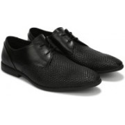 Clarks Bampton Weave Lace Up For Men(Black)