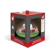 Janod Farm Musical Spinning Top Toy