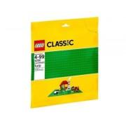 LEGO basplatta grön