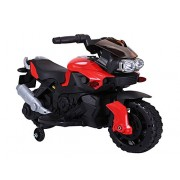 GetBest Beamer Kids Battery Operated Ride on Bike, Red