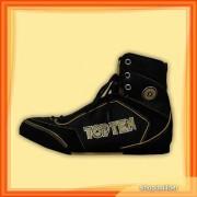 Box cipő, bőr+nylon (par)