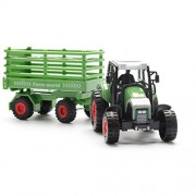 Farm Truck Vehicle Model Set Toys for Kids and Toddlers, High Simulation Model Farm Tractor Vehicles Collection Toys Playset for Boys & Girls