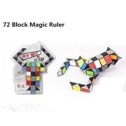 Shenzhen Meite Store Speed Twist 72 Blocks Educational Brain Toys For Children Magic Ruler Block