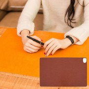Multi - Funcional 24V Office Home DESK Table Teclado Caja Fuerte Calefaccion Mat, Size: 60 * 36 * 3cm (Brown)