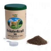 600г Luposan Kräuterkraft 30 билки на прах - хранителна добавка за кучета