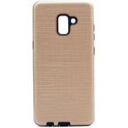 Teleplus Samsung Galaxy A8 2018 Plus Youyou Silicone Case Gold