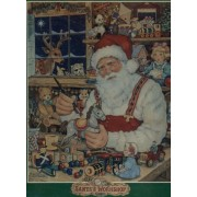 Santas Workshop by Betty Whiteaker - Over 550 Pieces - Search for the Hidden Christmas Words!