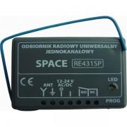 Funkempfänger CAME RE431 SP 433,92MHz Universal mit sich dynamisch änderndem Code