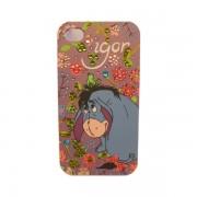 Funda Protector Mobo iPhone 4 Igor con Brillitos Morada