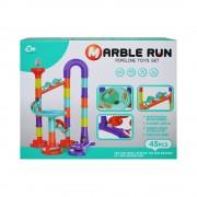 Joc de construit, Marble run, 45 piese