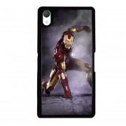 Y & M SONY Xperia Z5 Caja del teléfono Popular Iron Man Printed Phone Case (Multicolor)