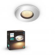 Philips HUE White Ambiance 34175/11/P9 Adore zápustné svítidlo GU10 5W / 350 2200-6500K chrom IP44 ext Bluetooth