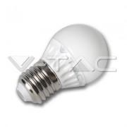 LAMPADINA LED E27 4W BIANCO FREDDO VT-1830-LED4207