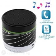 Bluetooth спийкър алуминиев - черен
