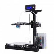 flsun gran tamano de impresion 200 * 200 * 250mm kit de impresora 3D cama de calentamiento automatico con 2 rollos de filamento