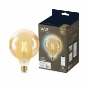 WiZ Filament globelamp - Wi-Fi- wittinten - amber G120/E27