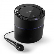 Superstarlet Karaokeanlage CD+G TV-Anschluss Mikrofon schwarz