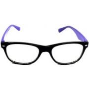 Royal Wood Retro Square Sunglasses(Clear)