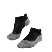 Falke TK5 Invisible Men No Show Socks Black Mix
