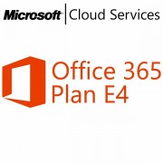 MICROSOFT Office 365 Plan E4, Business, VL Subs., Cloud, All Languages, 1 user, 1 month Q4Z-00012