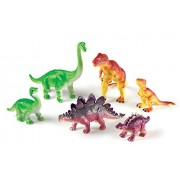 Learning Resources Jumbo Dinosaurs: Mommas and Babies Toy Set (6 Piece)