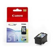 Canon Cartucho de tinta Original CANON CL511 Amarillo, Magenta, Cián para PIXMA MP230, MP237, MP252, MP258, MP272, MP280, MP282, MP495, MP499, MX360,...