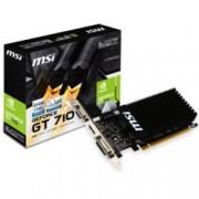 Видео карта Nvidia GeForce GT 710, 2GB, MSI, PCI-E2.0, DDR3, 64bit, HDMI, DVI