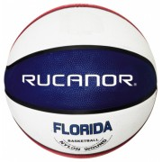 Rucanor basketbal Florida rood/wit/blauw maat 5