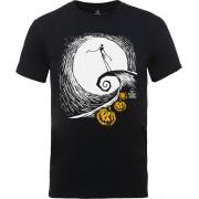 Disney Camiseta Pesadilla antes de Navidad Jack El Rey Calabaza - Hombre - Negro - S - Negro