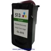 Canon CL-513 színes utángyártott tintapatron (nagykapacitású)