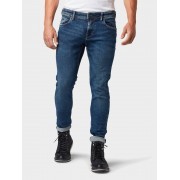 TOM TAILOR DENIM Culver skinny jeans, Heren, Used Mid Stone Blue Denim, 30/32